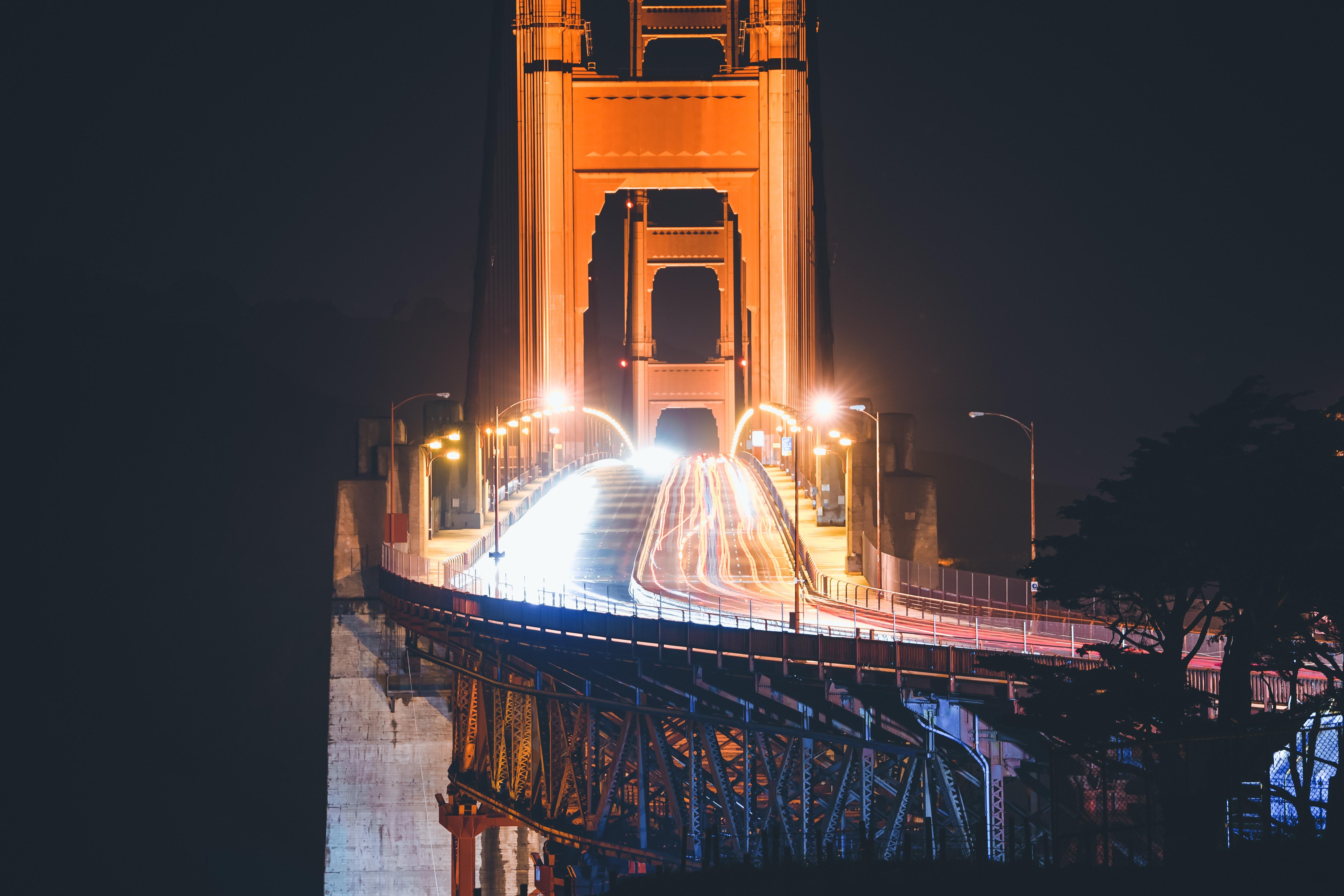 time-lapse photo of Golden Gate Bridge, San Francisco