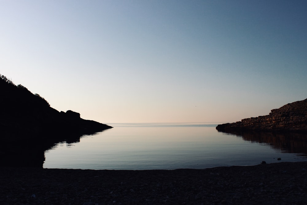 landscape photo of calm water
