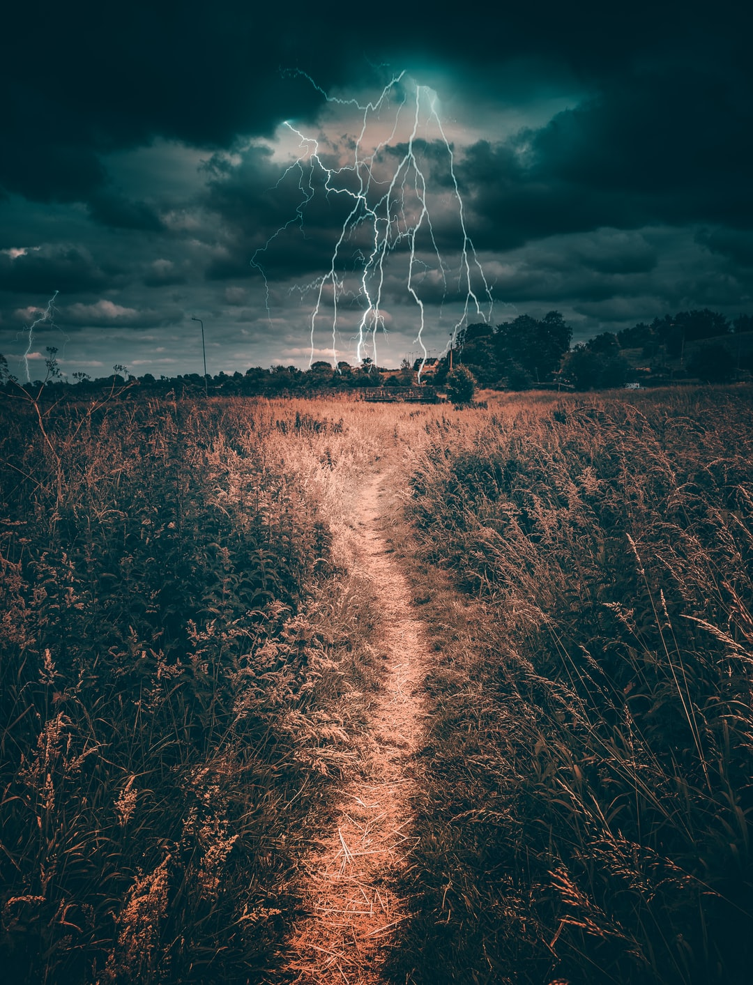Very dramatic shot captured in Meath Ireland. We dont get lightning often in Ireland but when we do its very special.