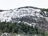 Mount Colden's Icy Face