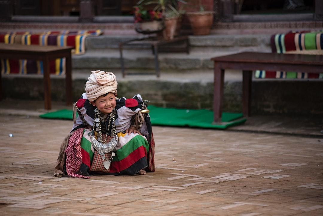 during NavaDurga Dance festival, Bhaktpur, Nepal