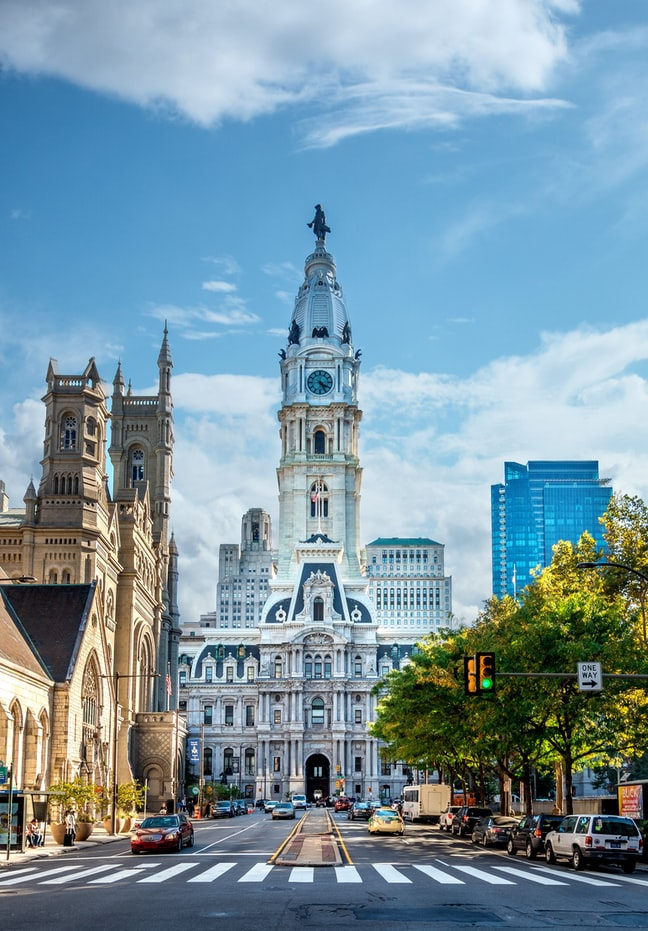 Beautiful attractions in Philadelphia