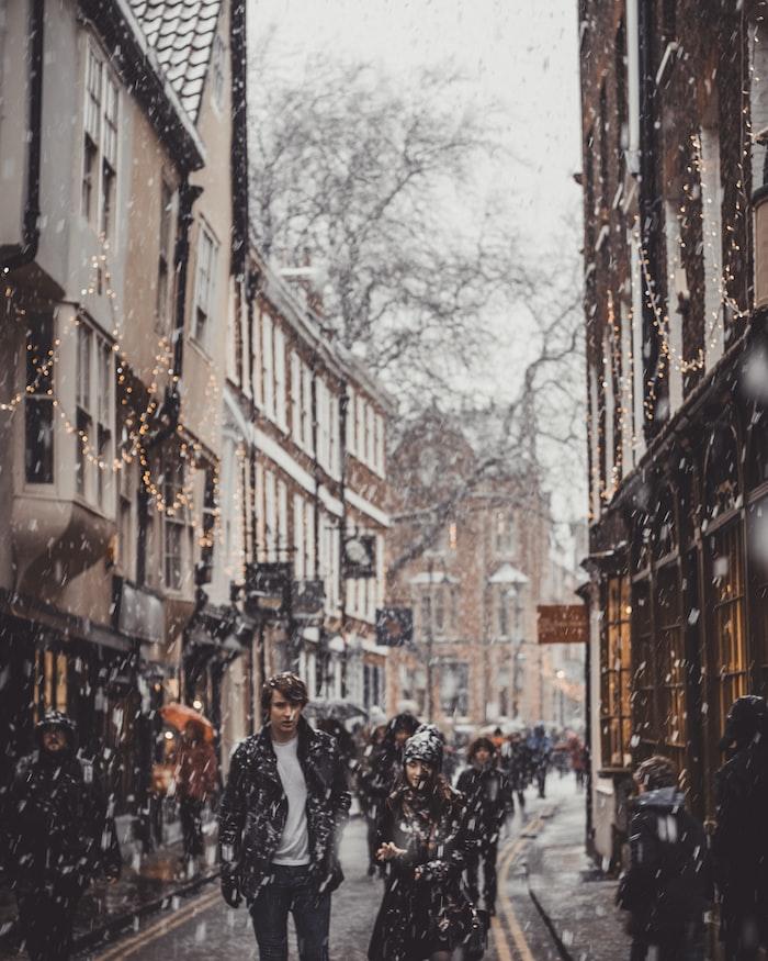 York in winter