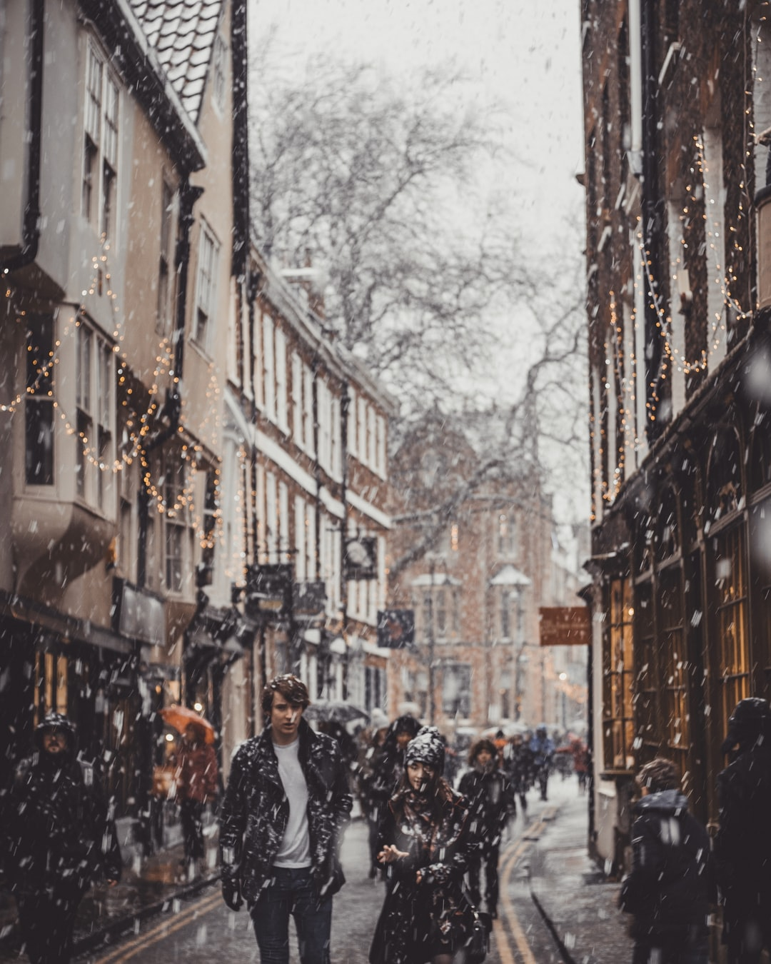 Its quite rare that we see snow in England before Christmas. It really brings our old towns to life and gives such a great atmosphere.