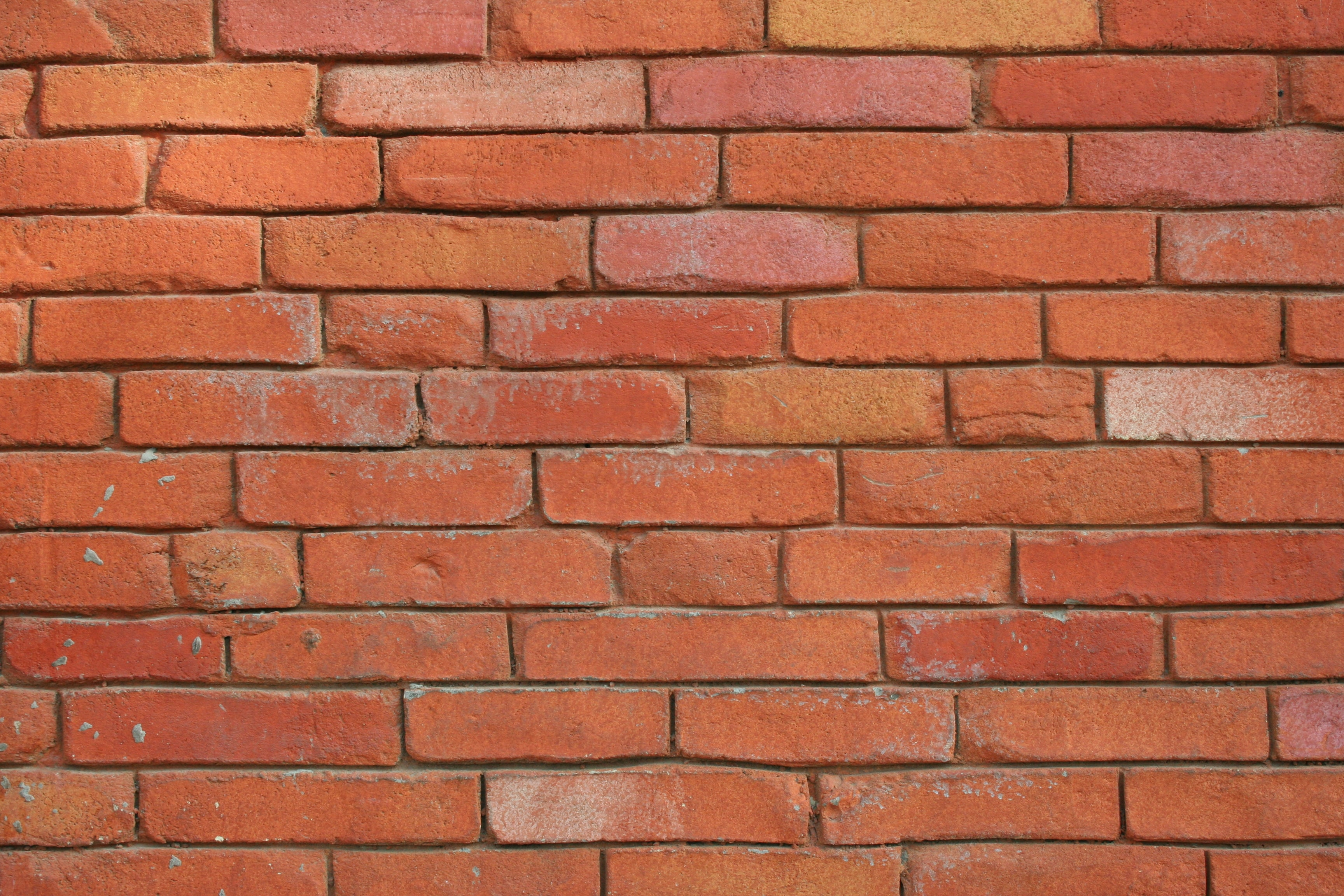 orange brick wall