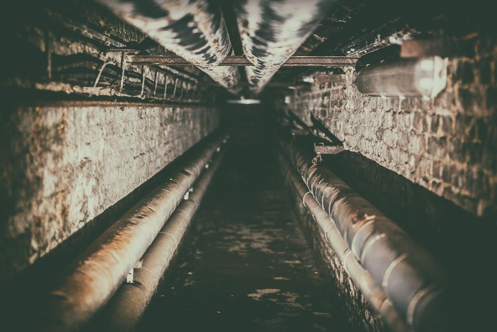 tunnel underground low light photography