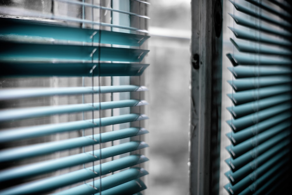 Green Window Blinds Photo Free Window Image On Unsplash