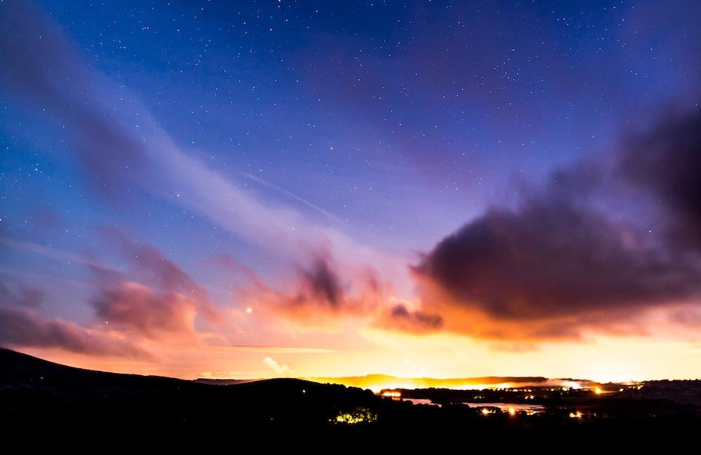 photography of nimbus clouds