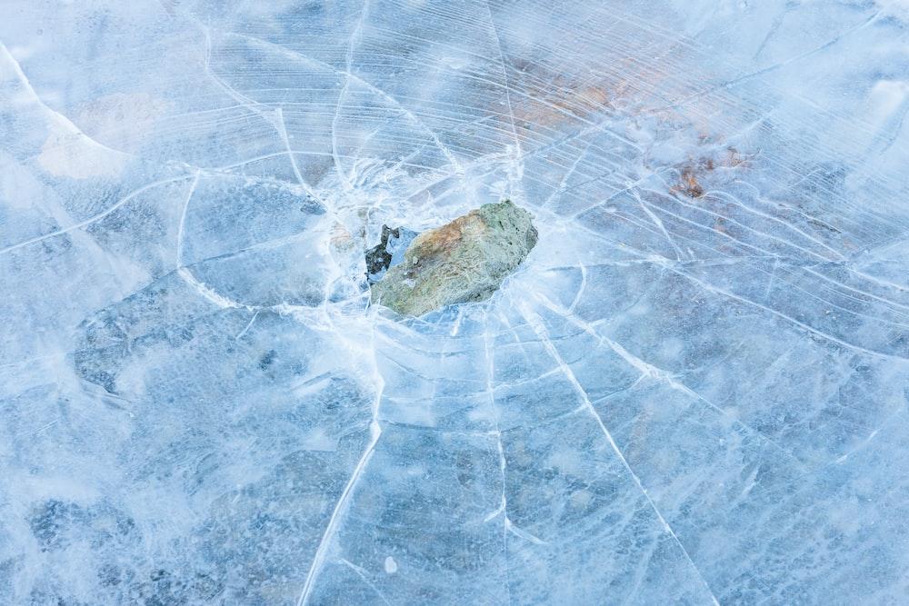 cracked ice panel