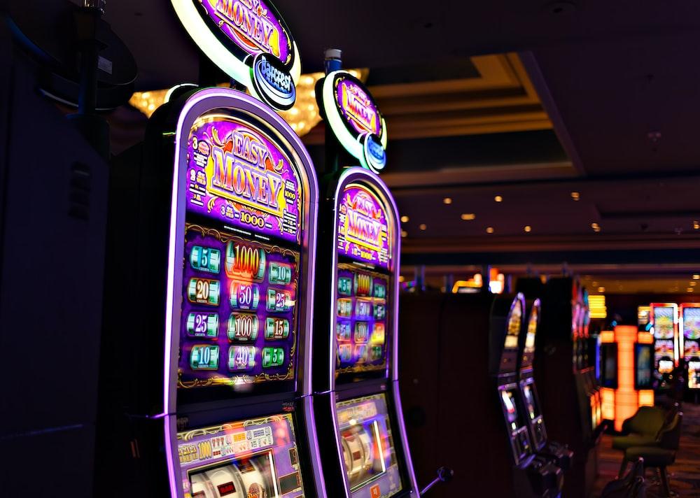 photo of game machines