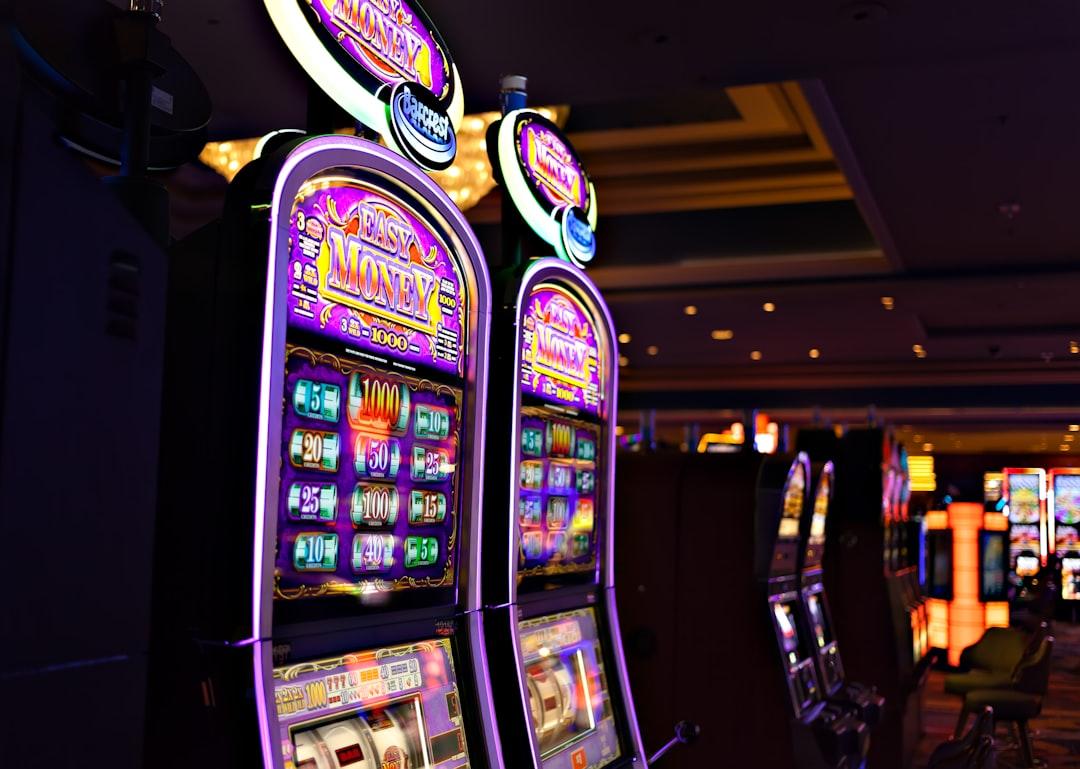 Taken in an casino on the Las Vegas Strip, Nevada.