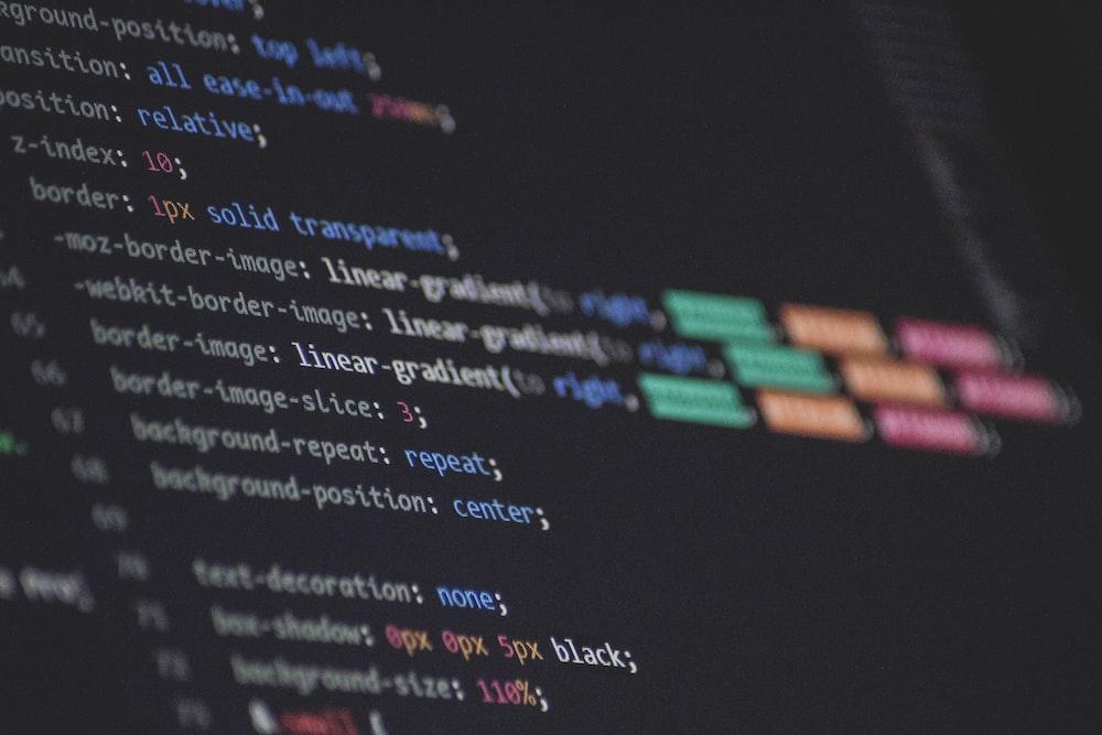 program script digital wallpaper