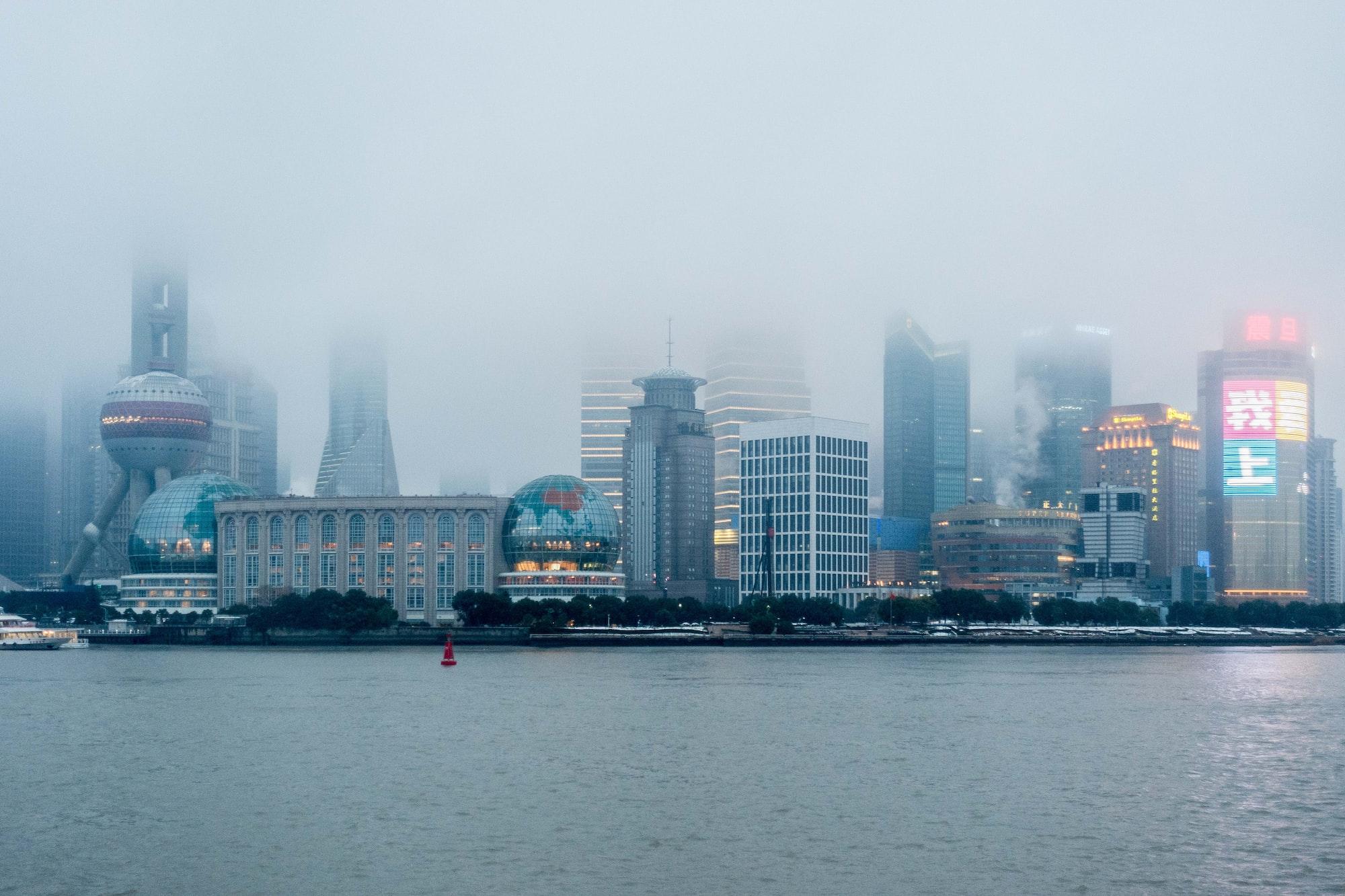 Cloudy Shanghai