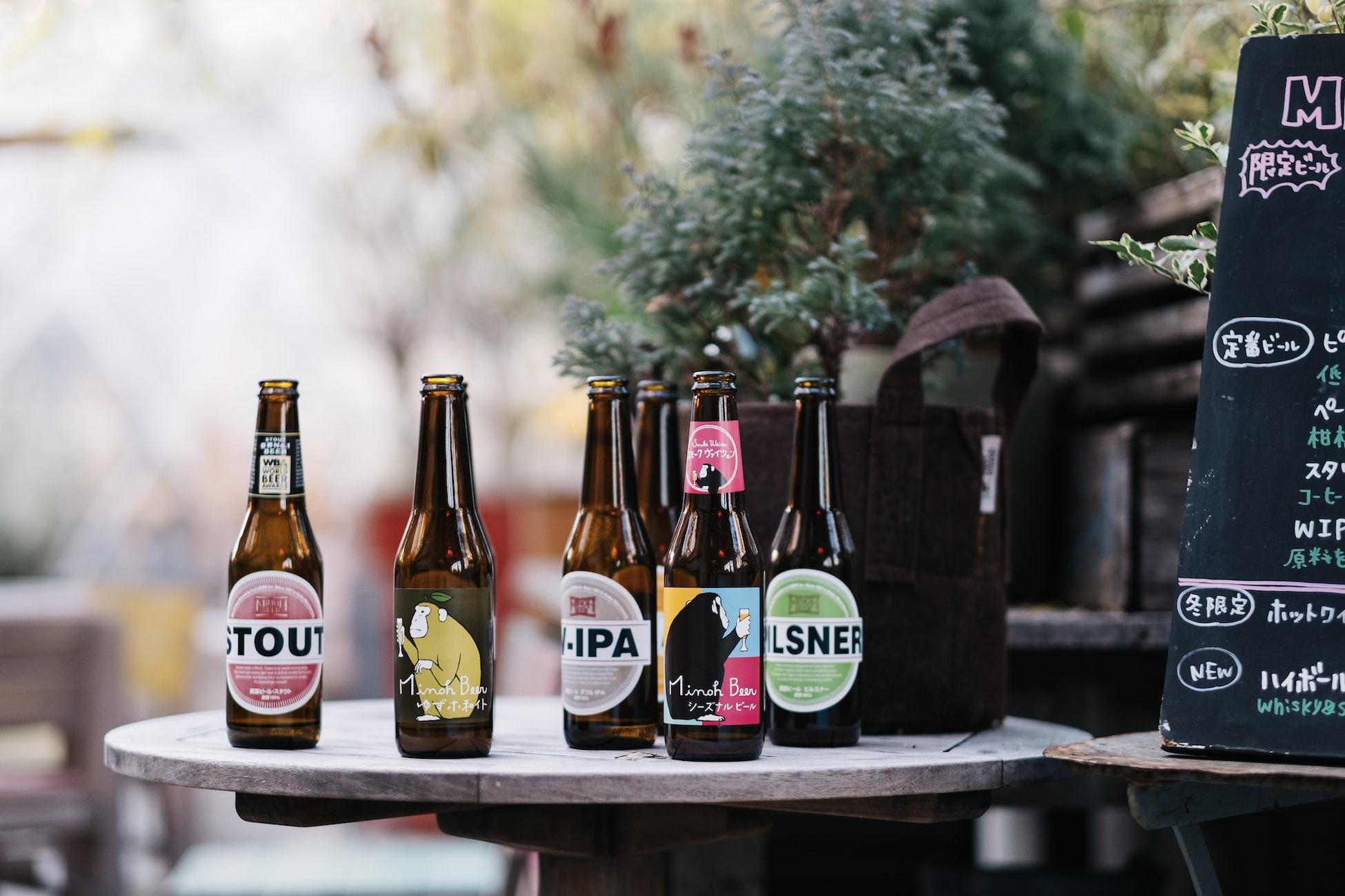 beers background