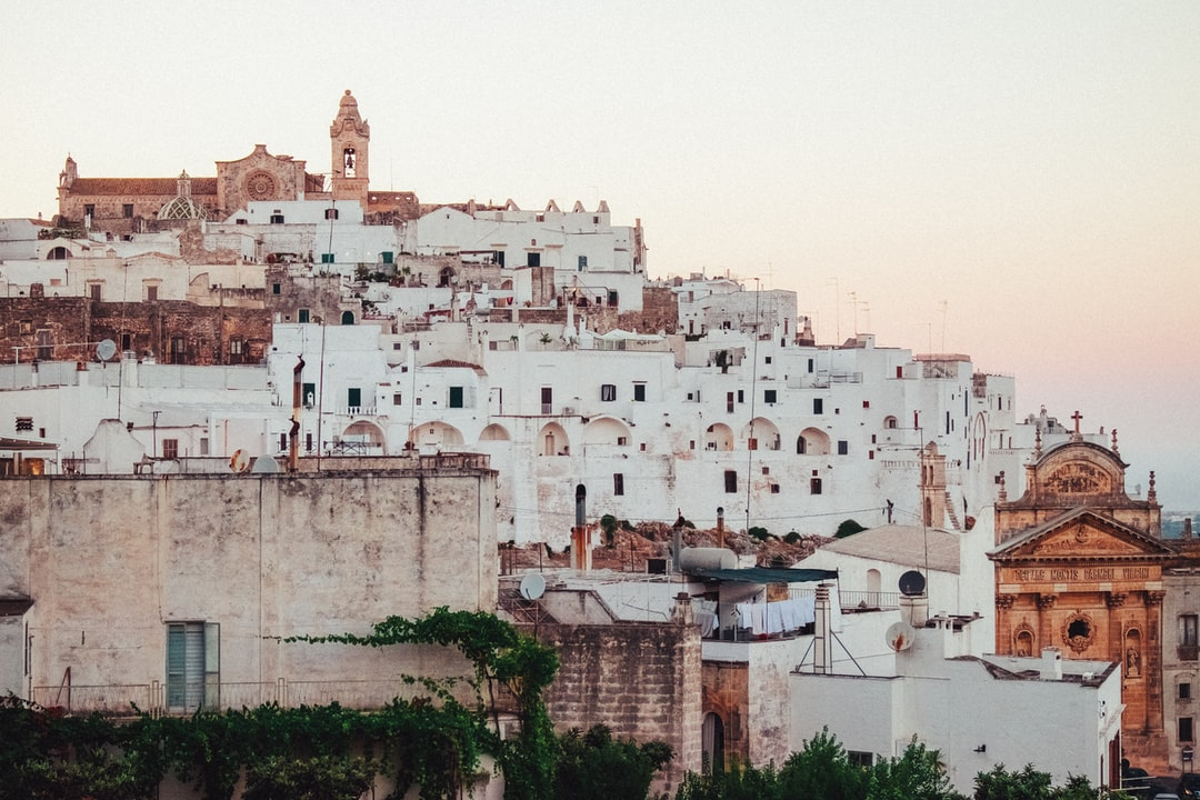 Get on the bus in Ostuni
