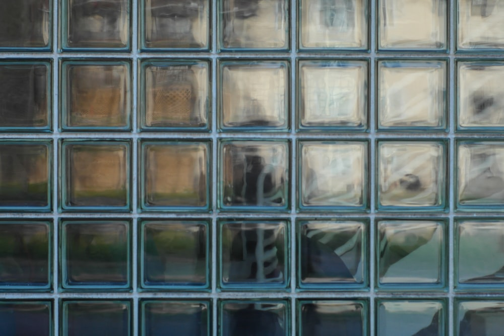 gray glass wall