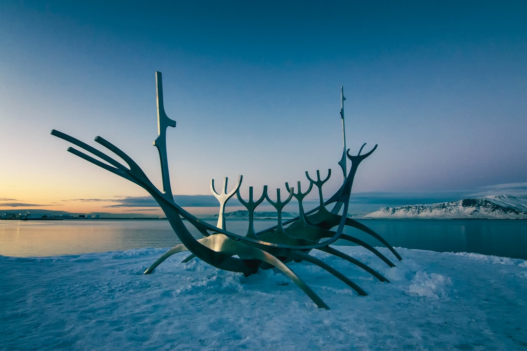 The sun voyager in Reykjavik
