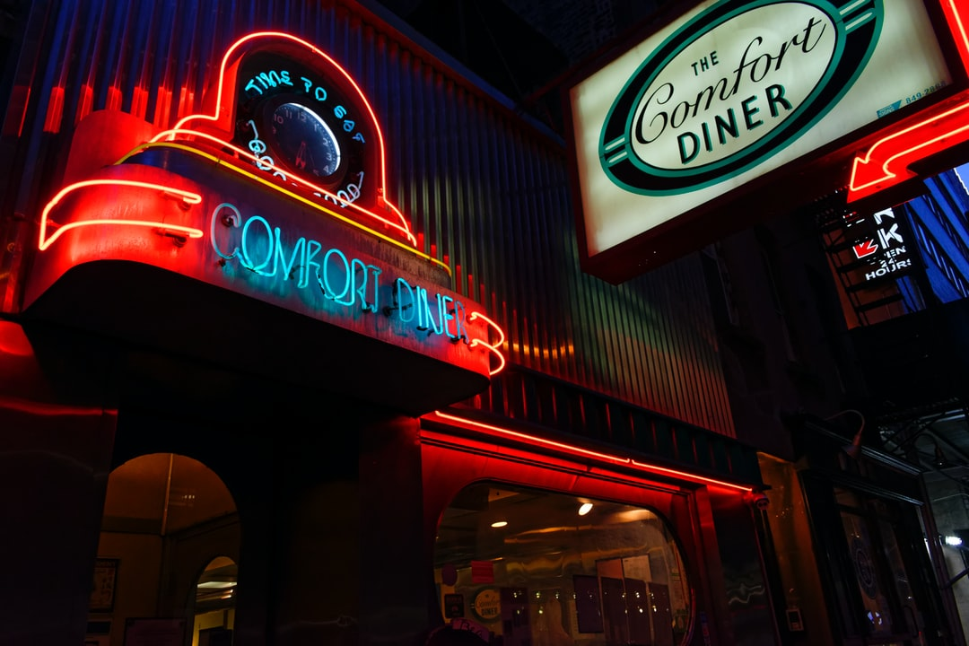 Nothing could be finer. Wandering around the streets of Manhattan and couldn't resist this shot of this classic diner.