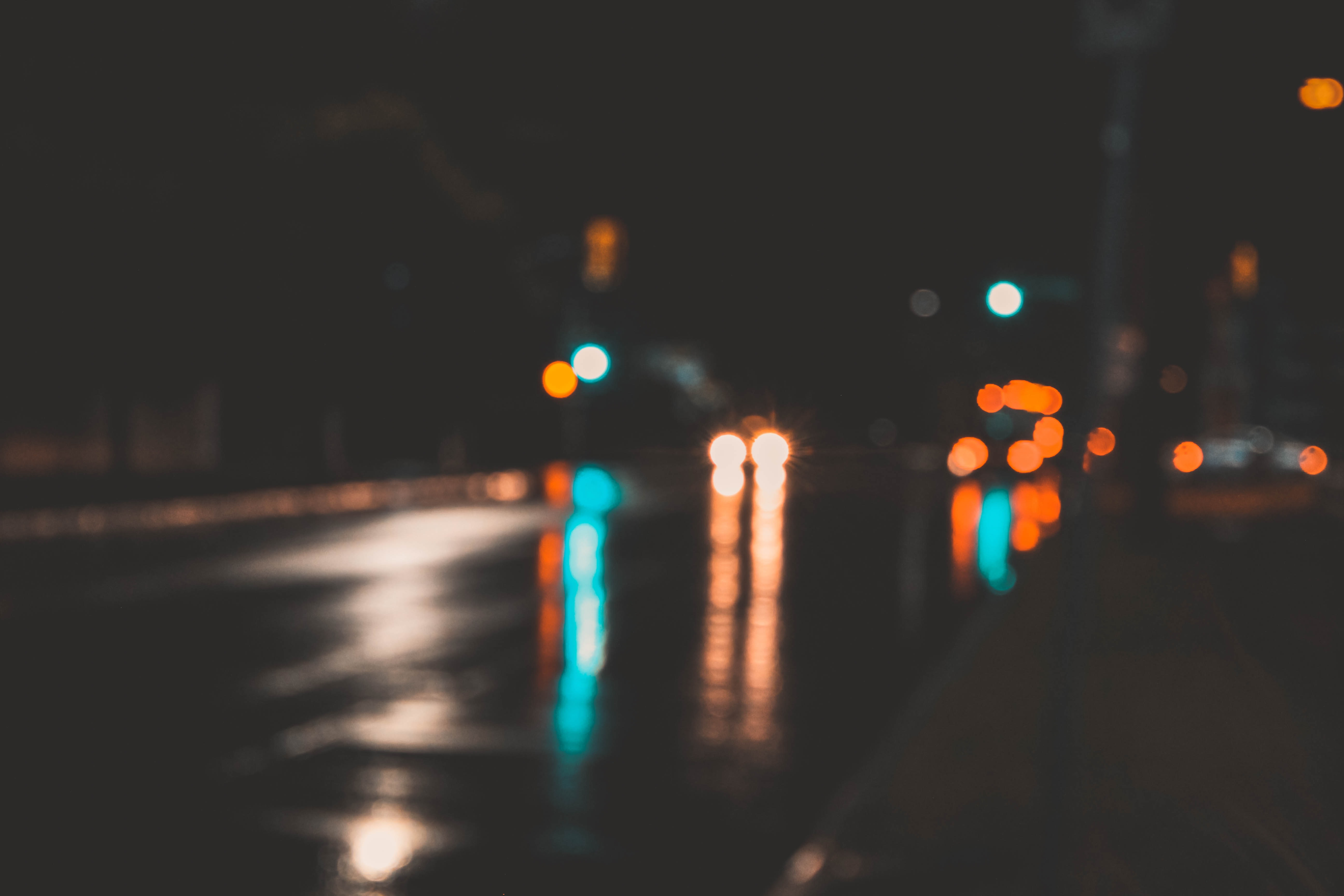 Dusk under Rain night stories