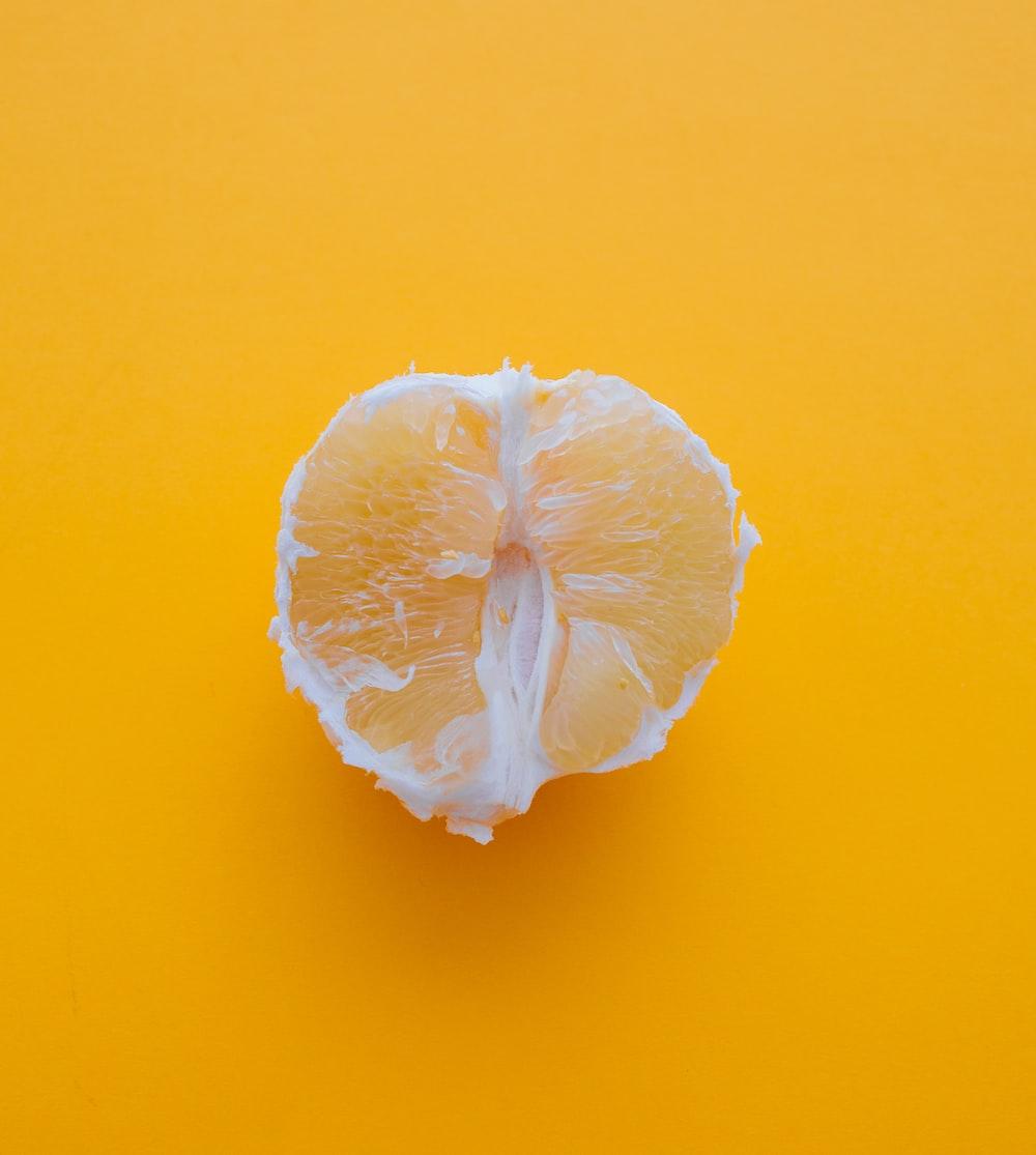 slice of citrus fruit