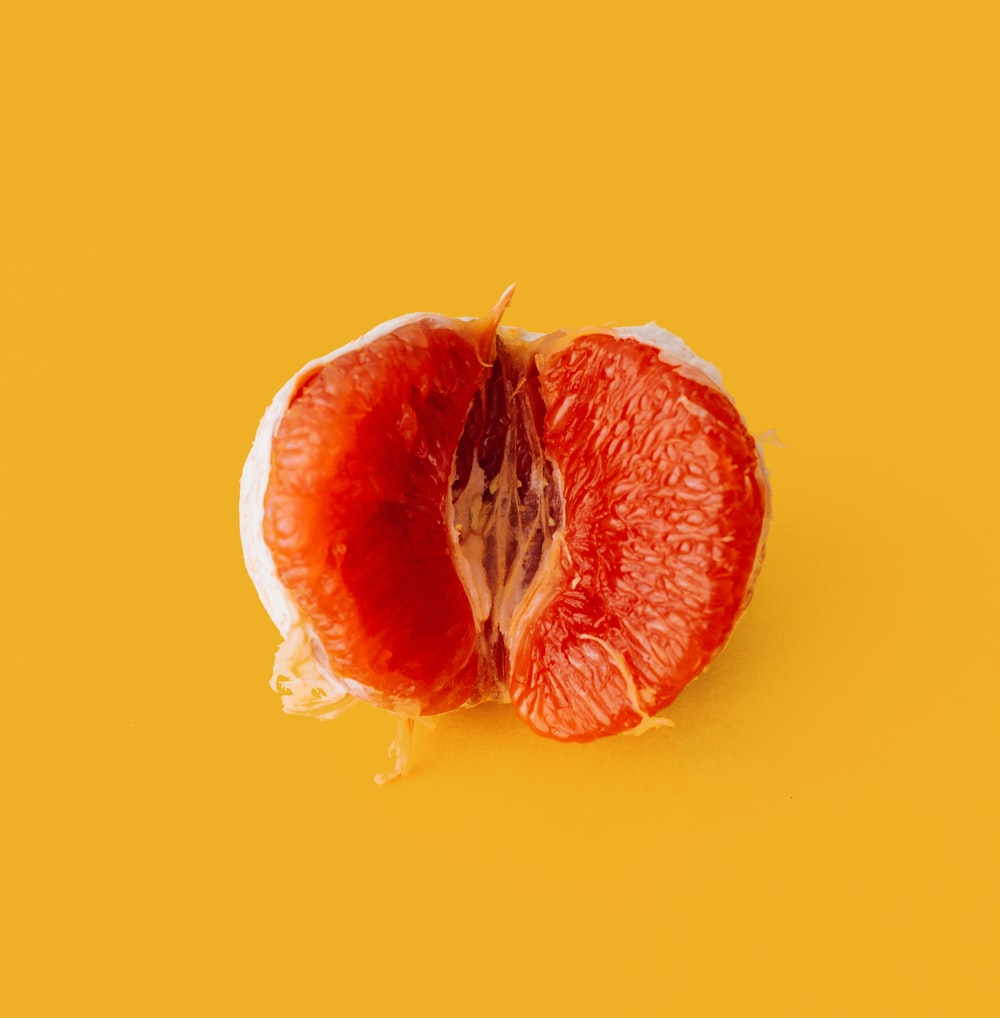 peeled pomelo fruit