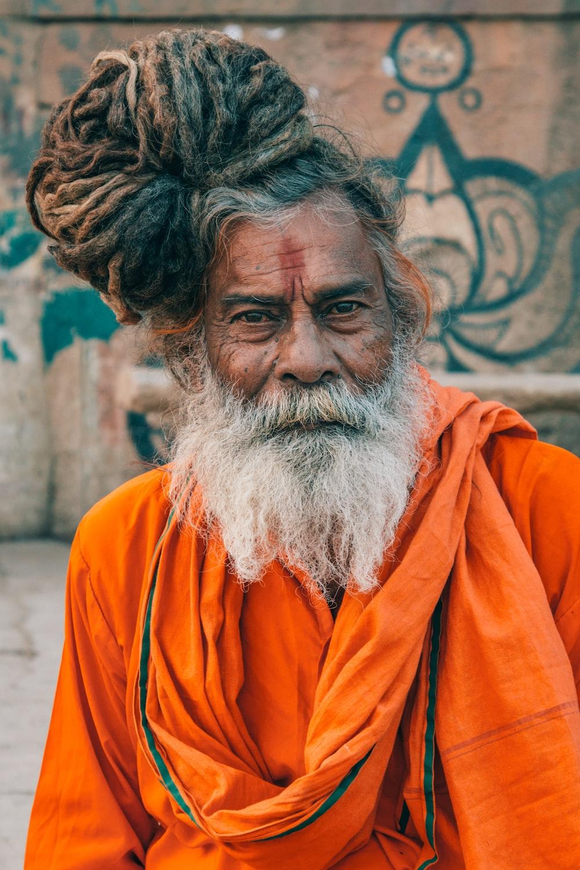 monk selective focus photography