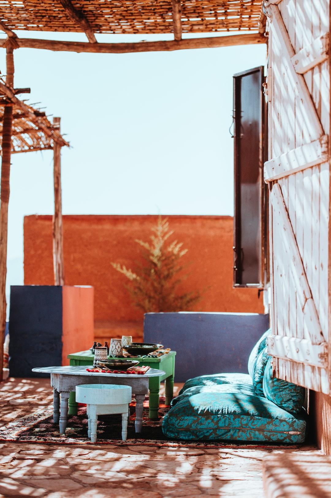 Morocco, Interior, Dining,