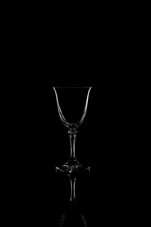 clear glass wine