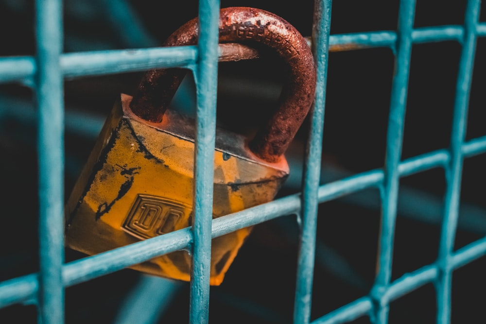 brown padlock photography