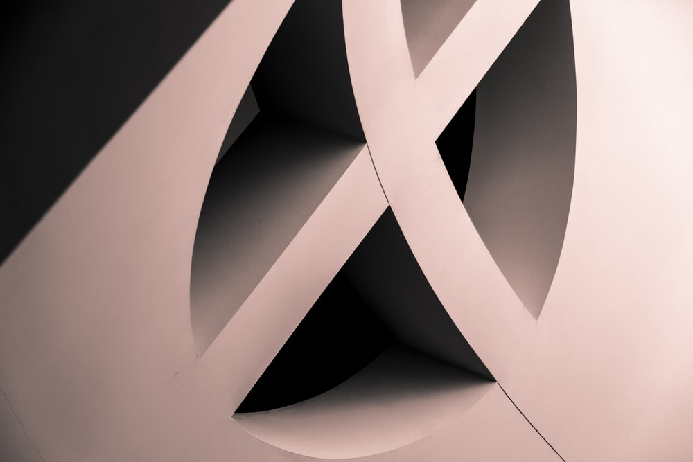 white architectural design