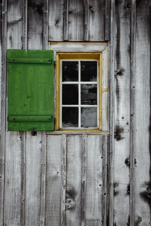 opened window during daytime