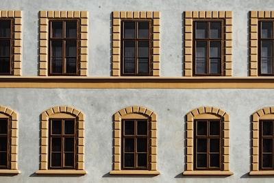white and brown building liechtenstein zoom background