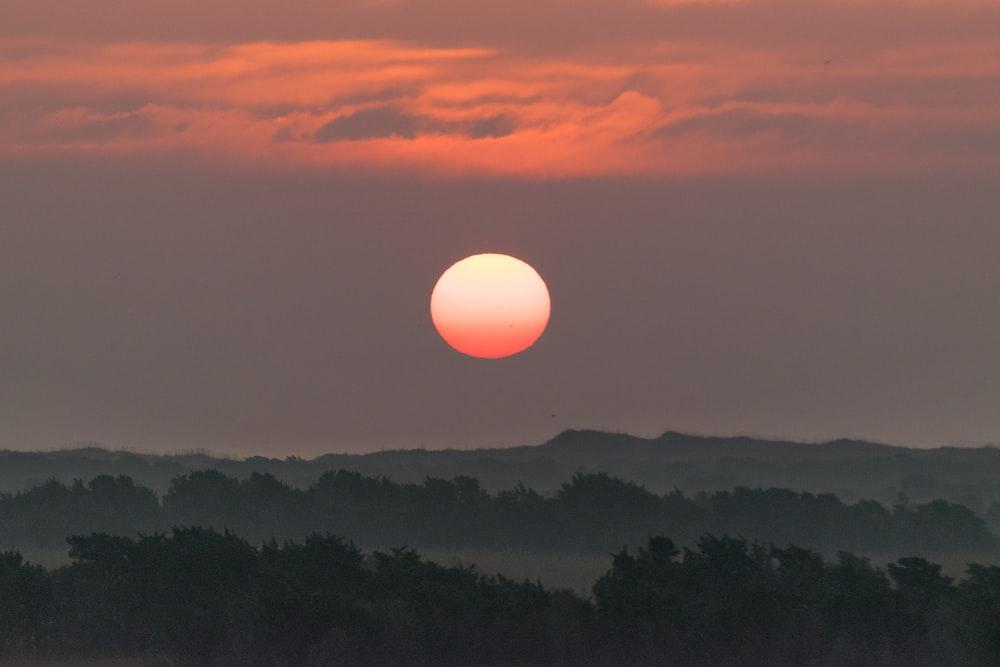landscape photo of dawn