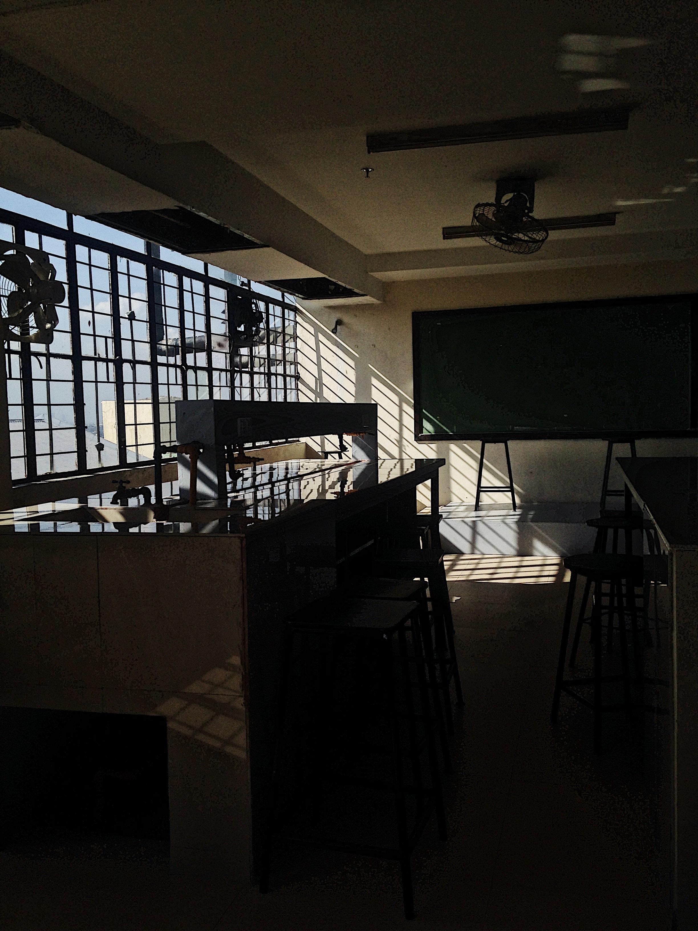 laboratory classroom during daytime