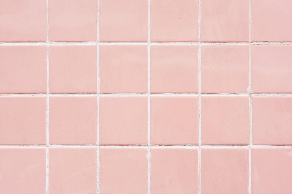 Tile Pink Bathroom And Kitchen HD Photo By Rawpixel On