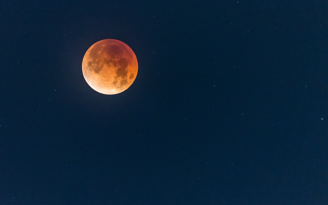 The Lunar Blood Moon Eclipse on January 31st 2018 as seen in Phoenix AZ