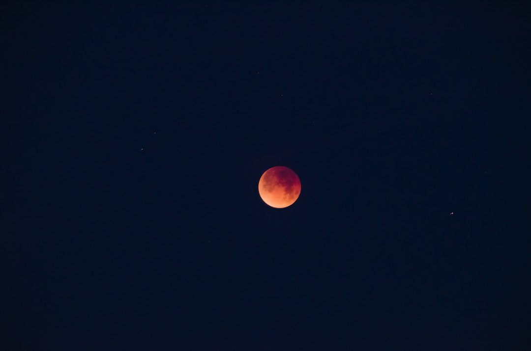 At the western outskirts of town, while sunrise began, the Lunar Trifecta hit totality: a Super Blue Blood Moon. The first triple combo of lunar events in 152 years.