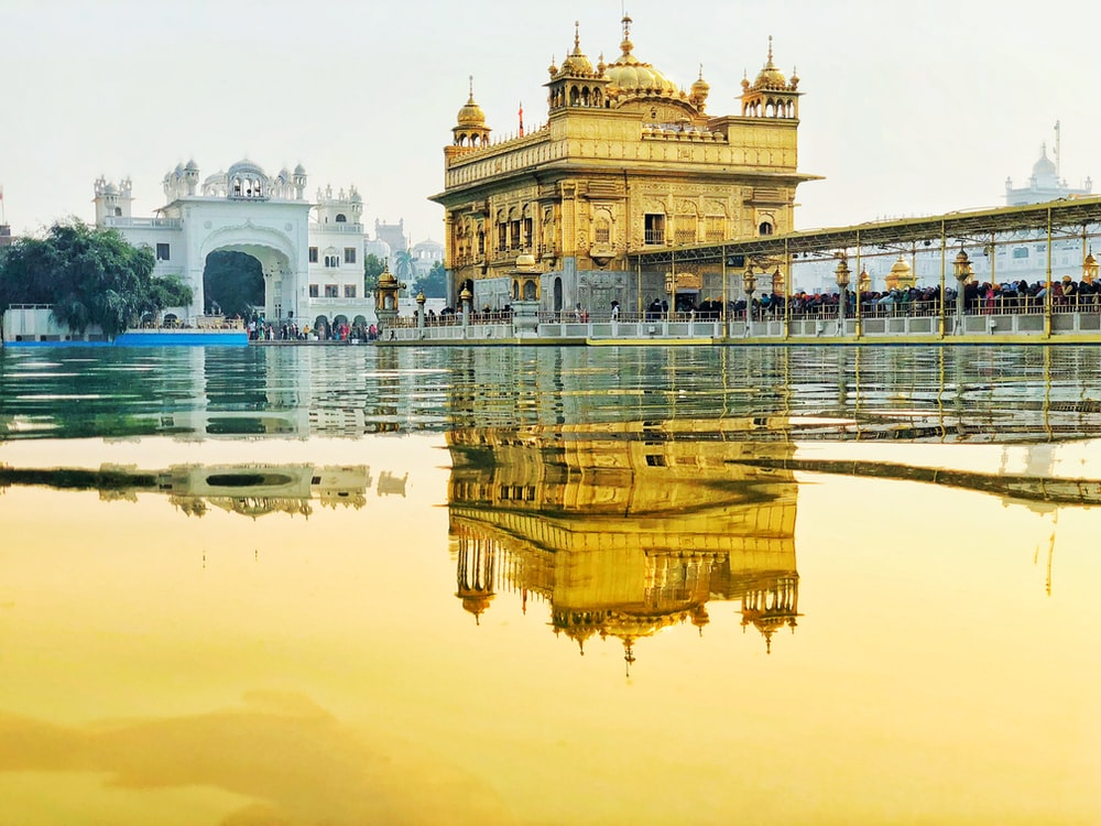 Golden Temple Road Amritsar India Pictures Download Free Images
