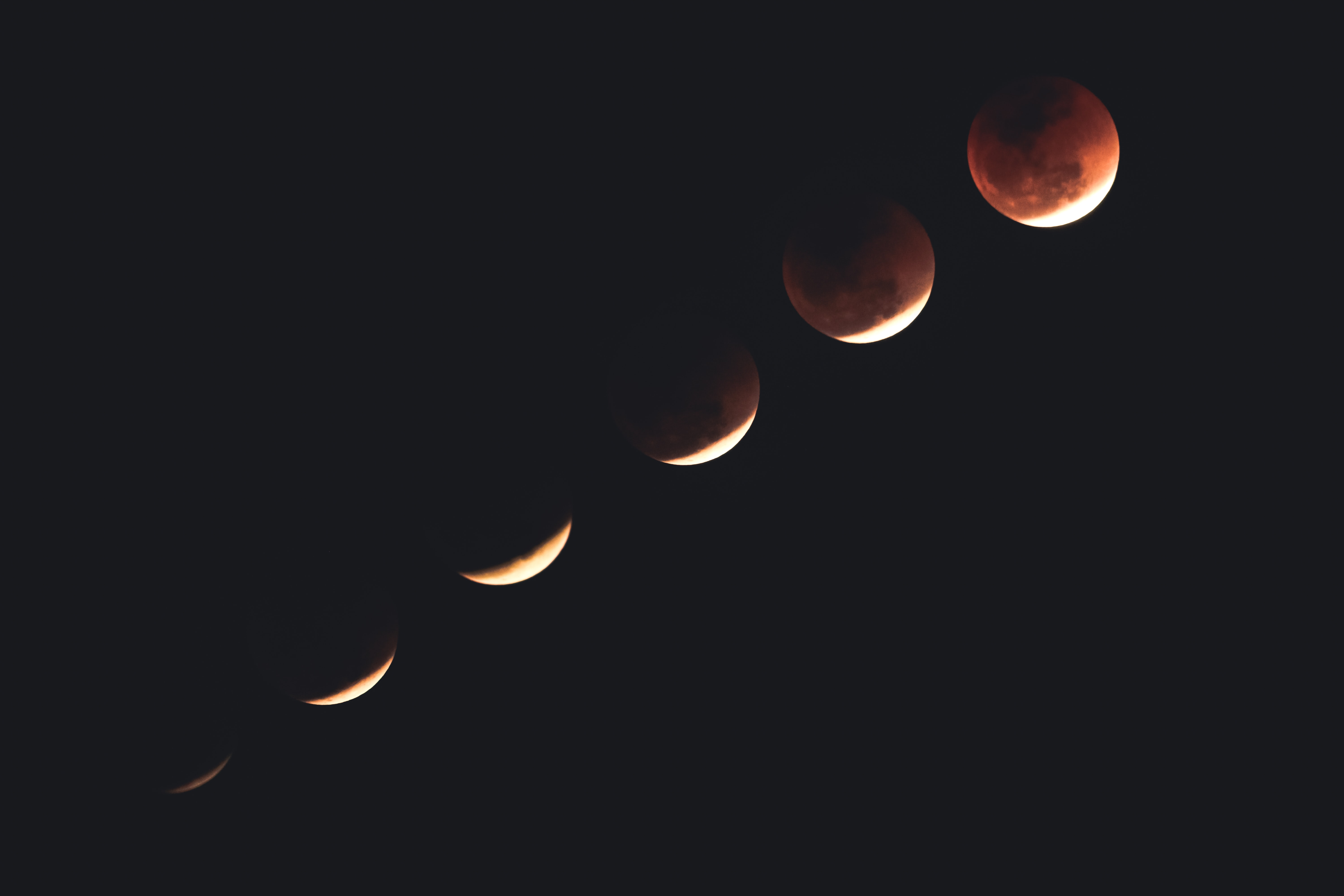 process of total eclipse