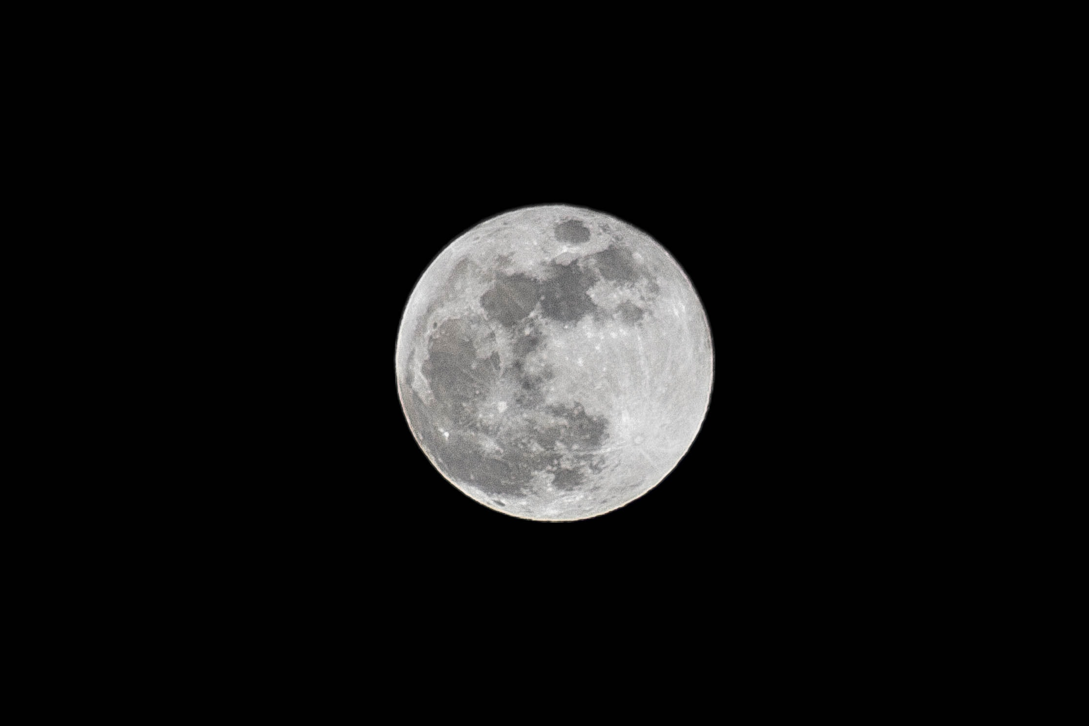 photograph of full moon