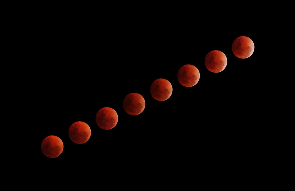 eight blood moon illustrations