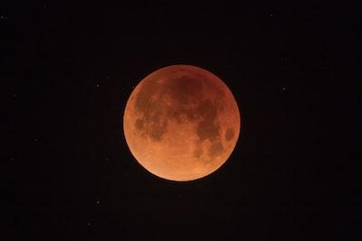 blood moon lunar teams background