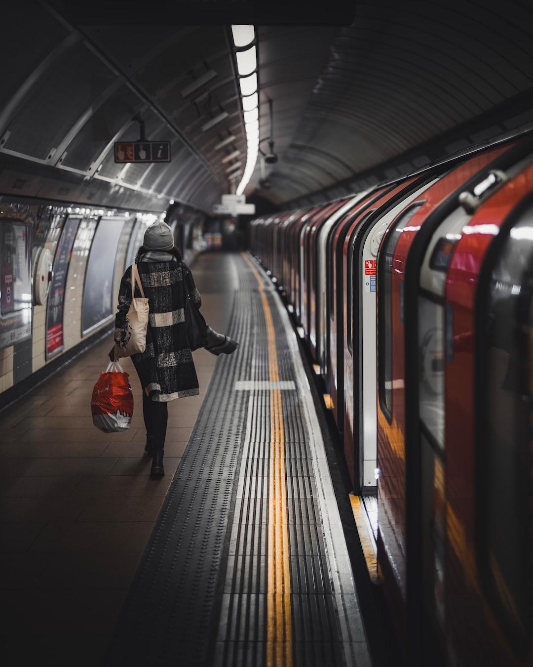 Brixton underground station, London