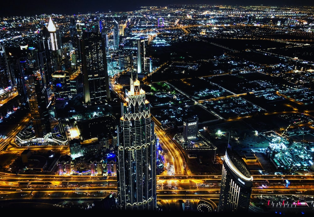 bird's-eye view photography of cityscape
