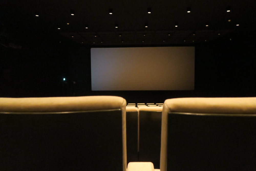 photo of empty seats of theater