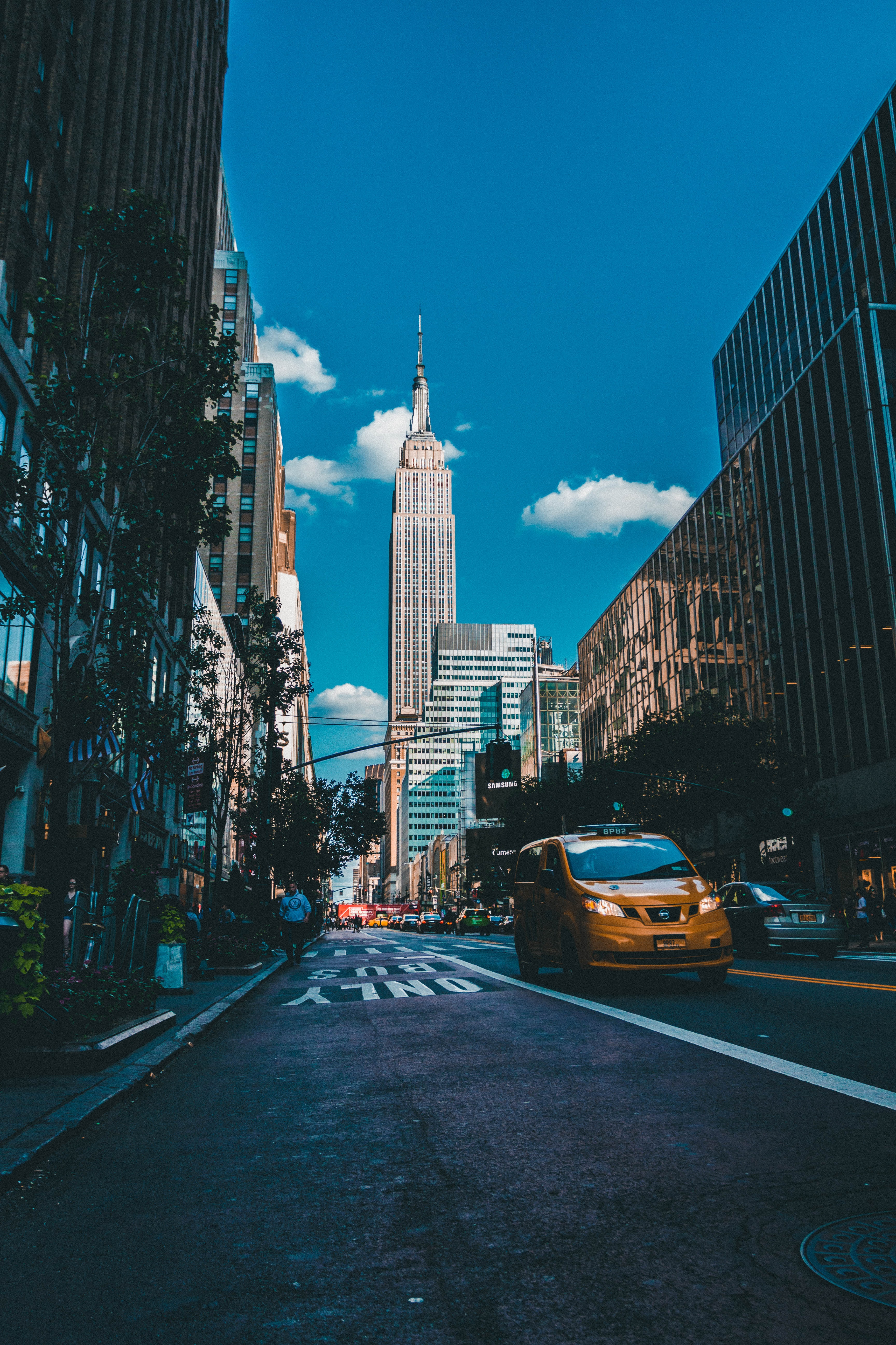 photo of Empire State Building in New York city