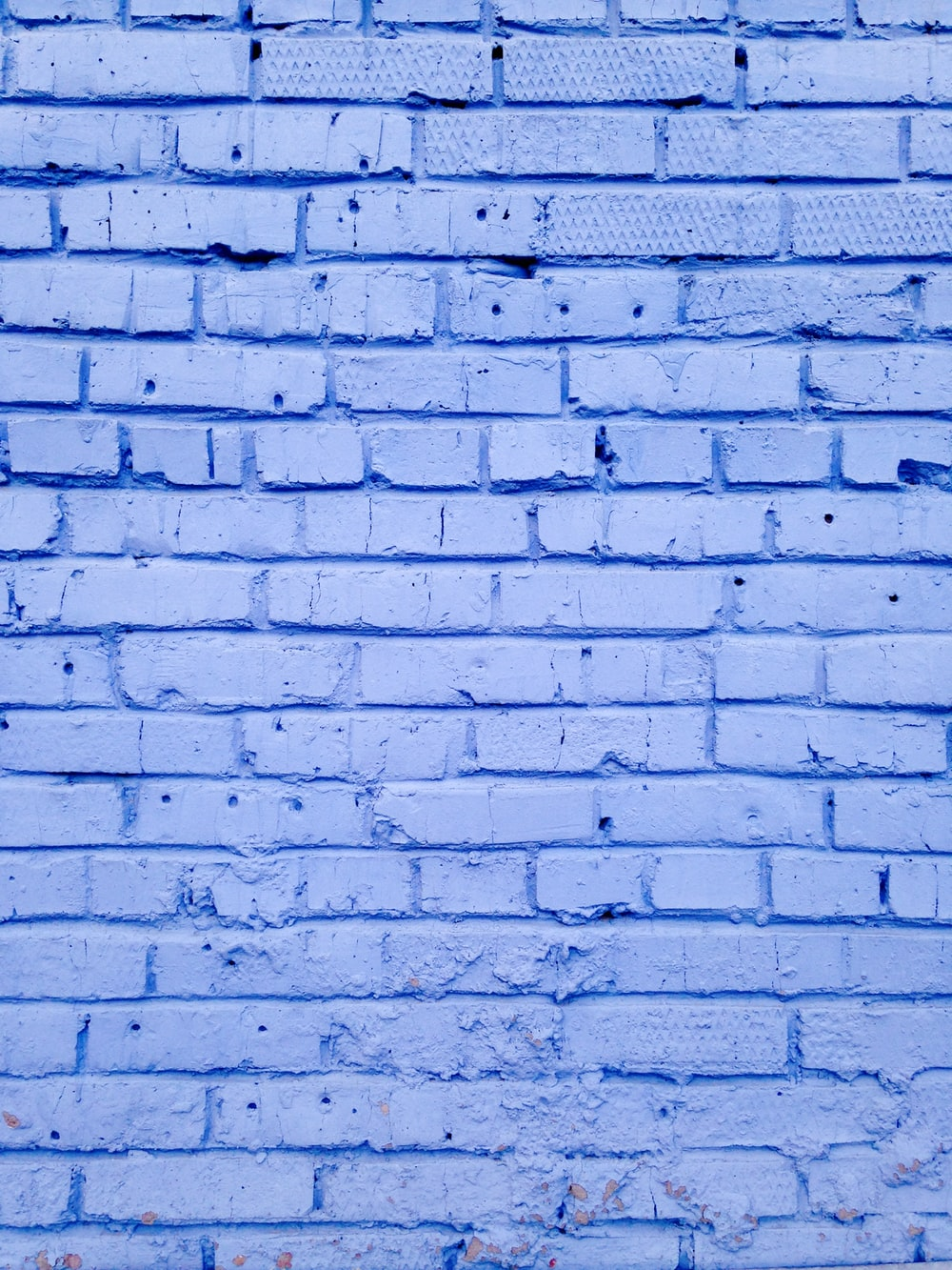 Blue, background, texture and brick | HD photo by David Pisnoy