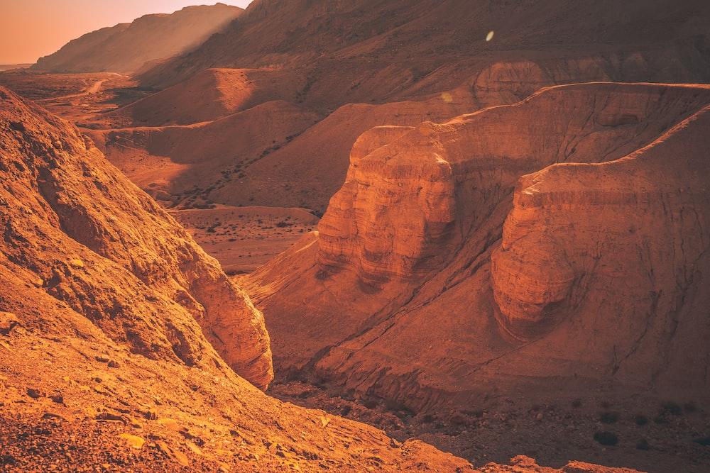 beige canyon