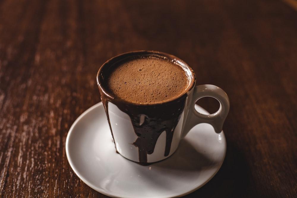 photo of mug with hot choco