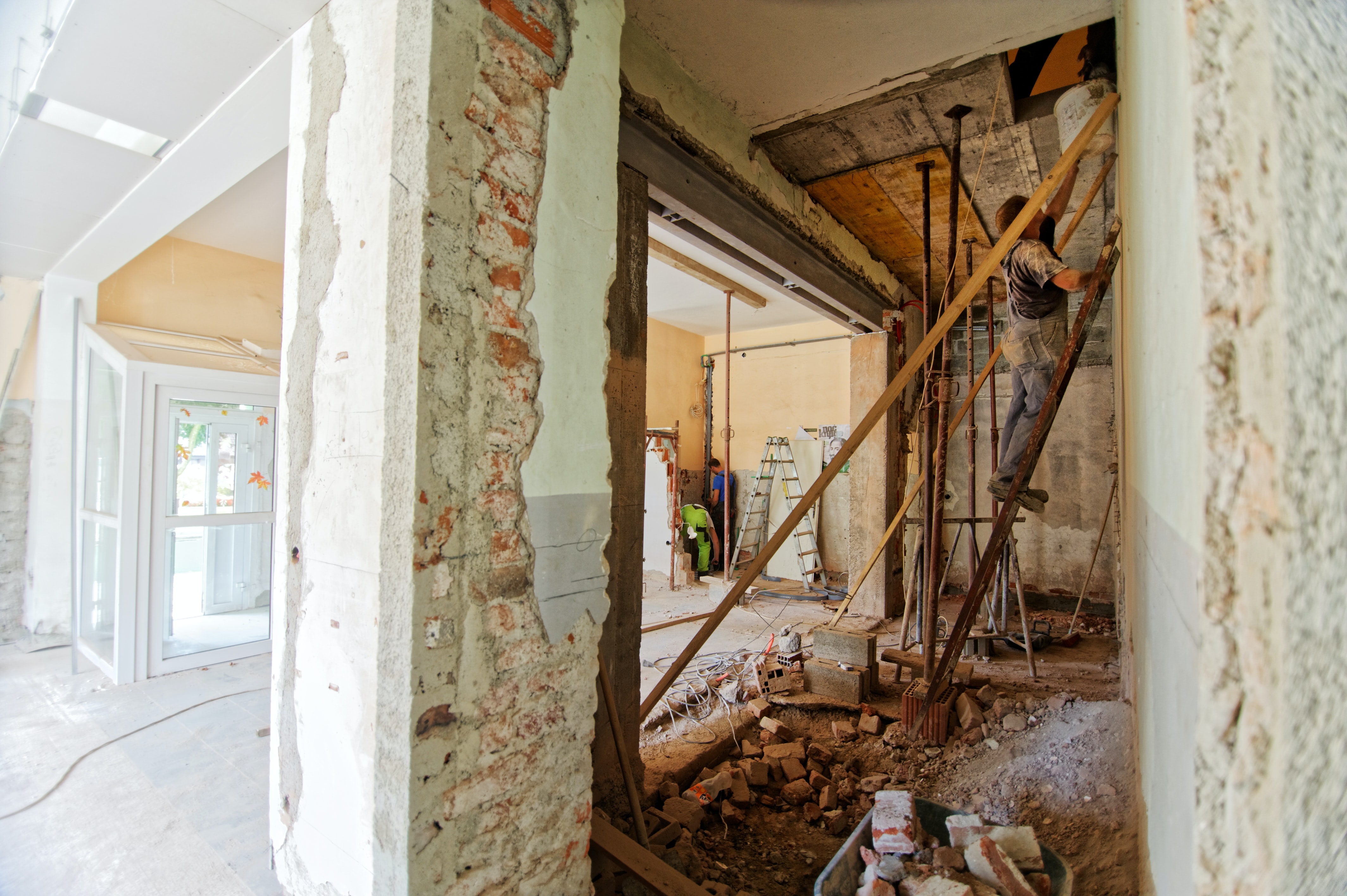 image of total home renovation project via Unsplash